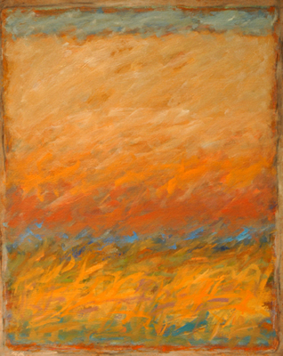 Strata 44 - Wabu, Early Fall  20x16  oil on canvas  $700