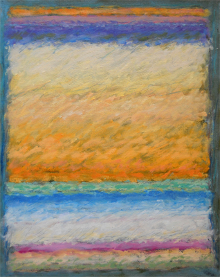 Strata 50 - Wabu Autumn  20x16  oil on canvas  $700