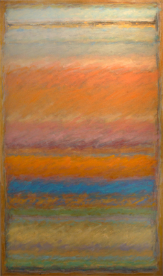Strata 78 - Late Drive Home  28x16  oil on canvas  $1,100