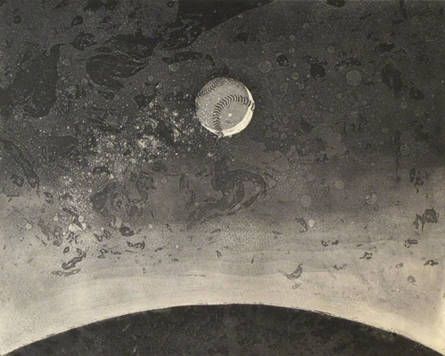New Moon  16x20  etching  $575 fr