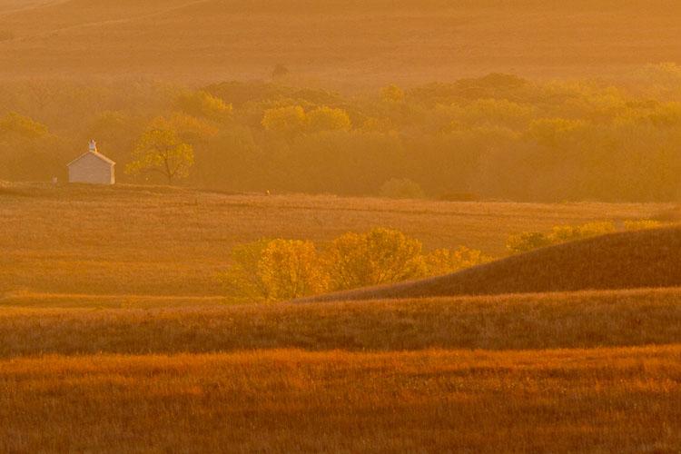 Fall Sunrise, Fox Creek Valley-(FH2)
