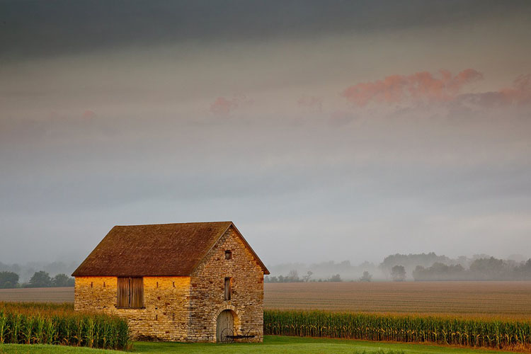 Stone Barn, Brown Co.