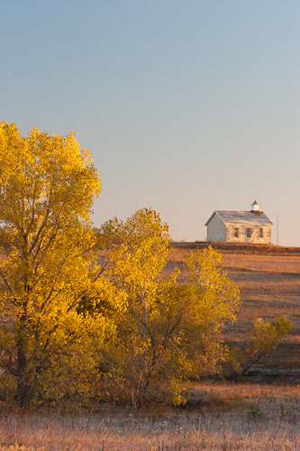 Fox Creek School, Fall-(FH70)
