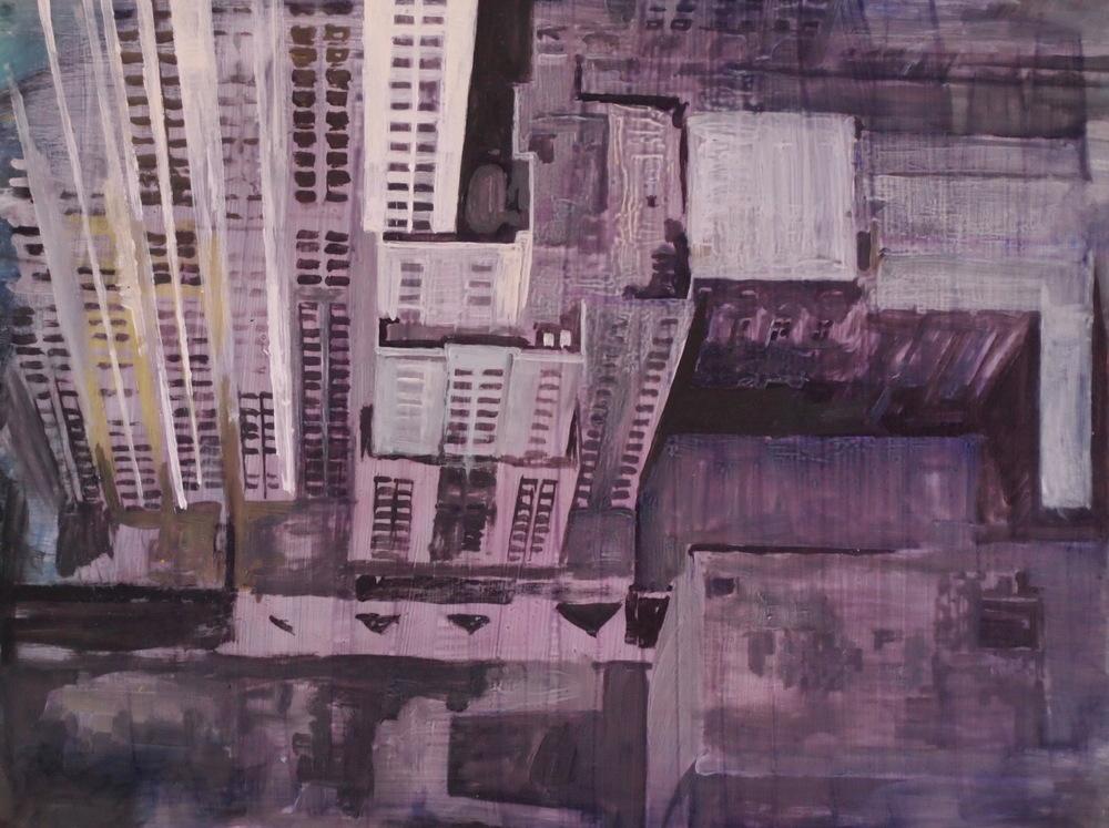 Chicago Landscape 8.5x10 ap $325 fr