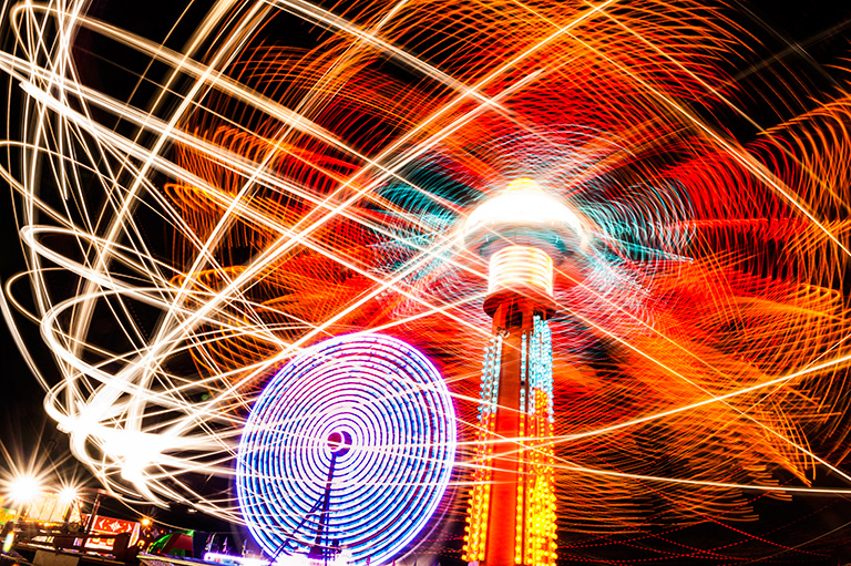 Cherokee Co. Fair - Columbus, KS  24x36  photo  $550  fr