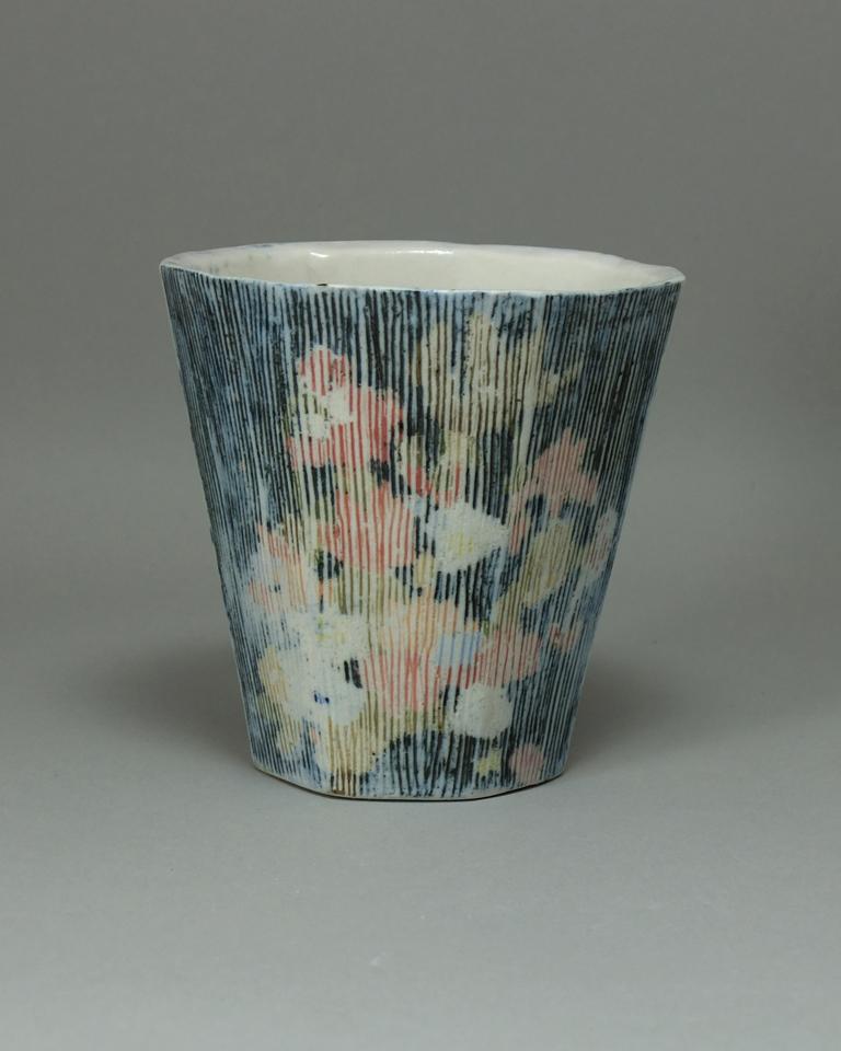 Vanitas Cup 3.5x5.75x5.75 Ceramic $45