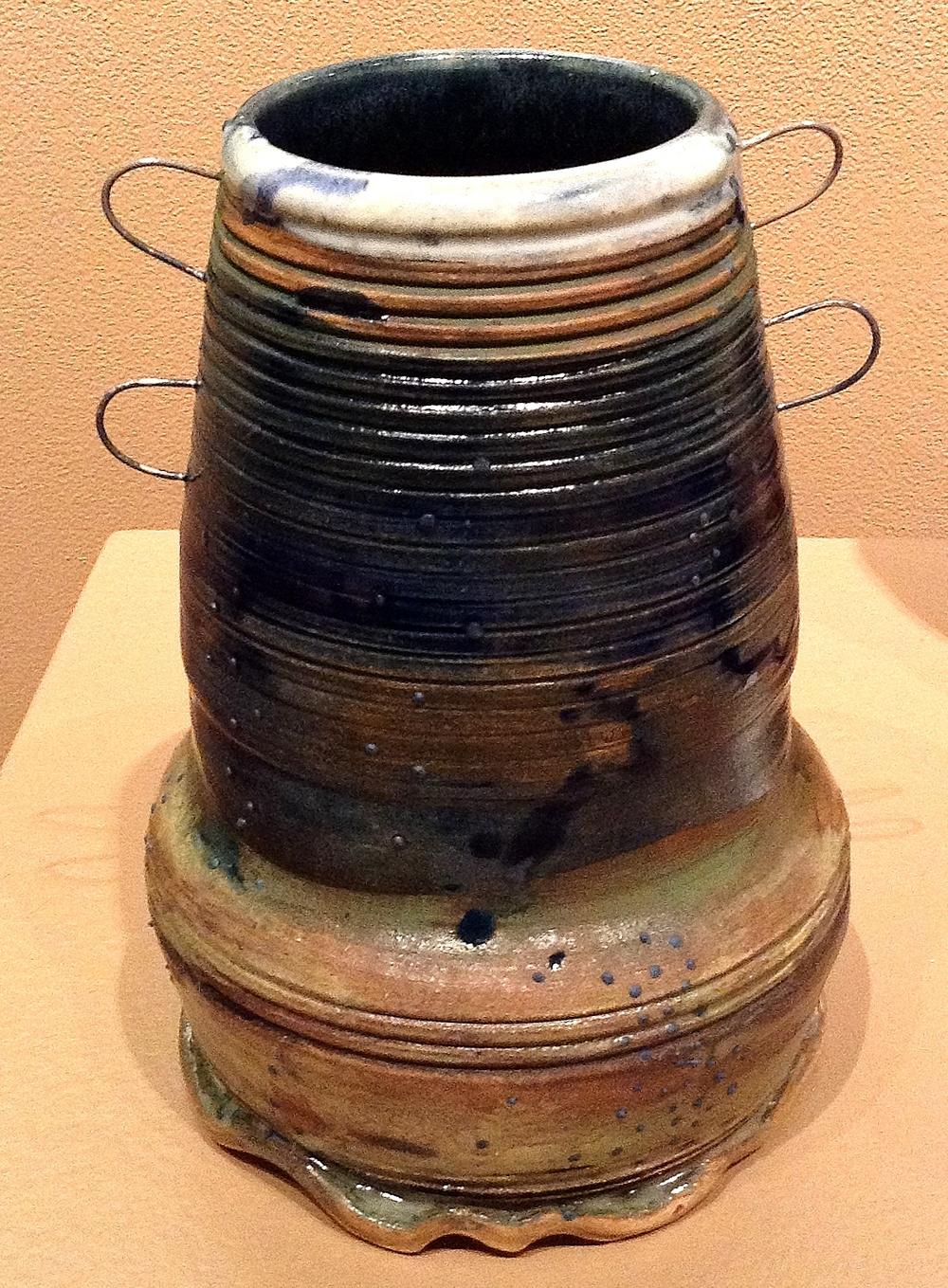 Medium Landscape Vase ceramic $35