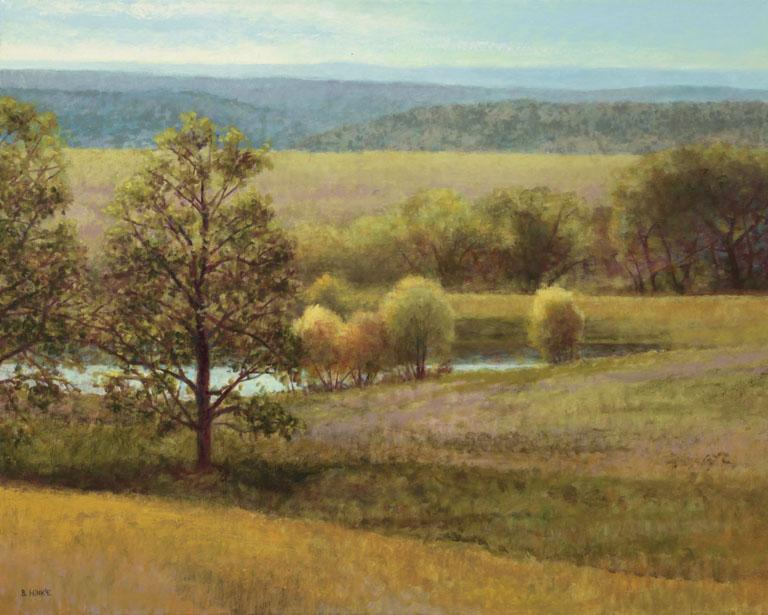 Brian Hinkle Flint Hills (Near Matfield Green) 24x30 oc $2,525 uf
