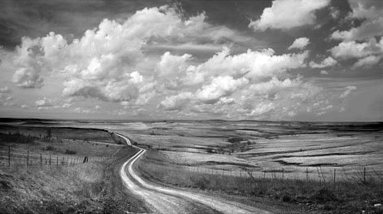 Daniel Coburn Ravine Road 11x17 b&w photo $380 fr