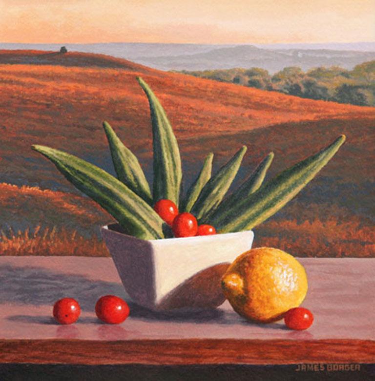 James Borger Autumn Bloom 10x10 ap $550 fr