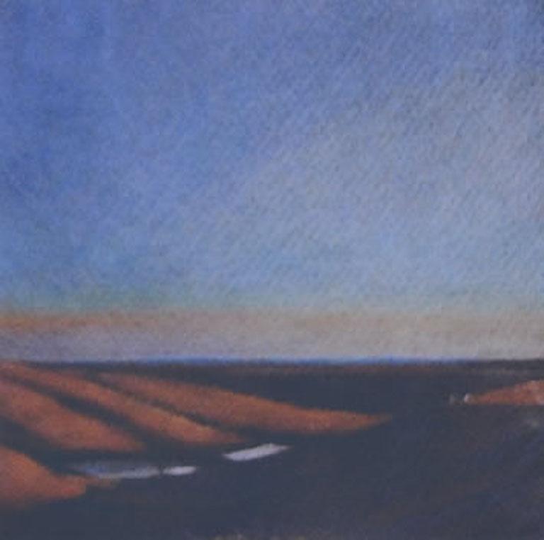 Barbara Waterman-Peters Flint Hills Evening 5x5 cp $250 fr