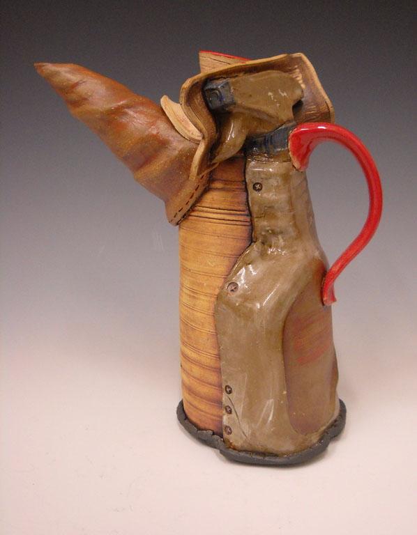 Spray Bottle Teapot 10x9x4 ceramic $215