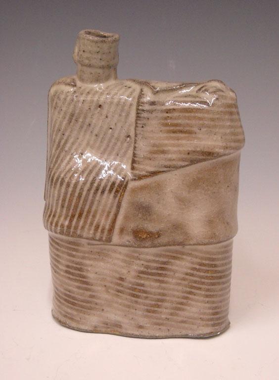 Linear Landscape Series Bottle 7x4.5x2 ceramic $65