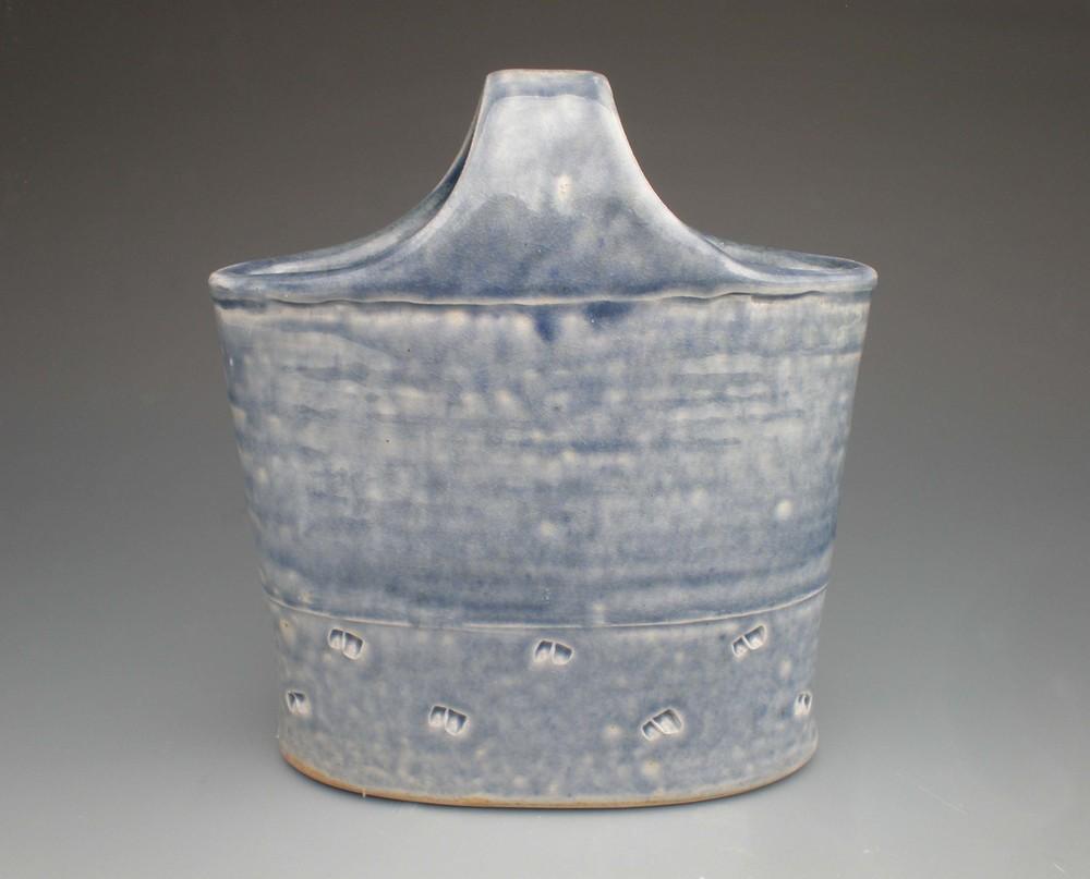Blue Basket (CA10) ceramic $40