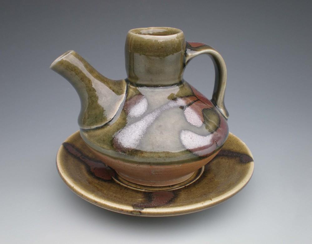 Green Cruet (CA3) ceramic SOLD