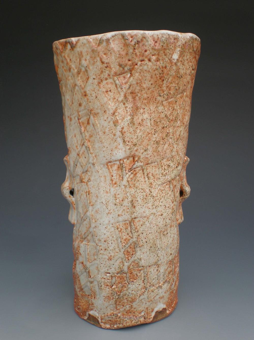 Paddled Vase (CA21) ceramic $55
