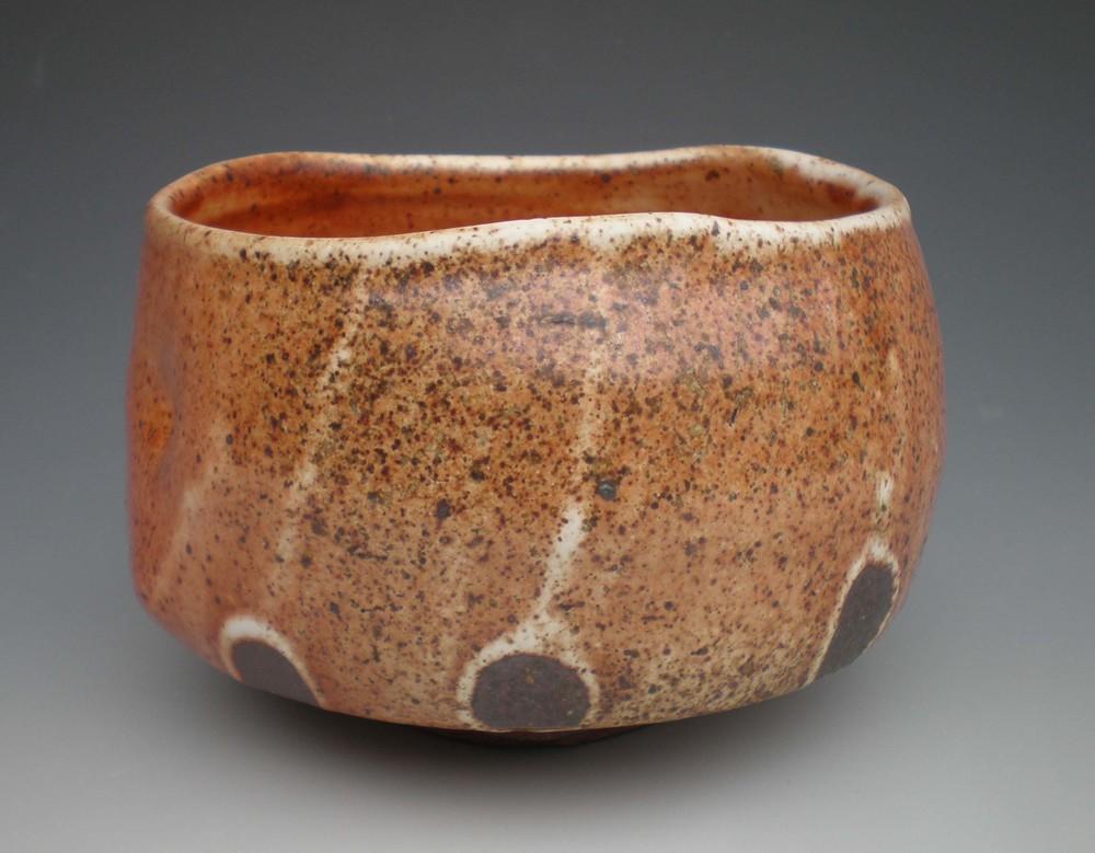 Shino T Bowl (CA19) ceramic $35