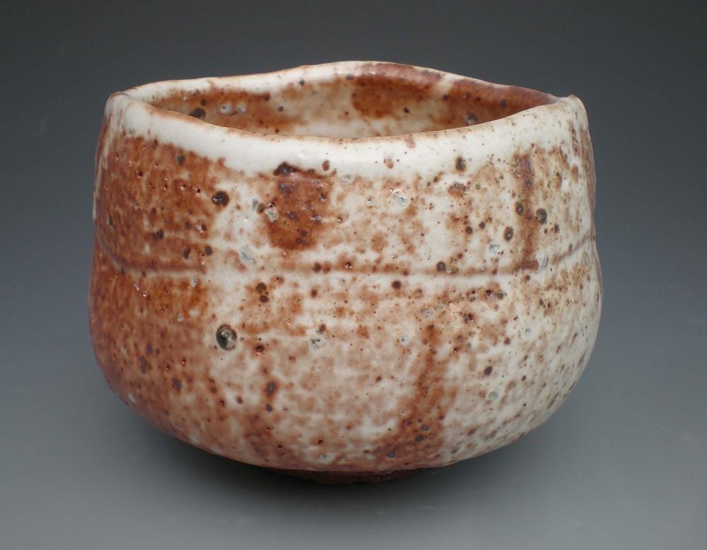 Shino T Bowl (CA20) ceramic $35