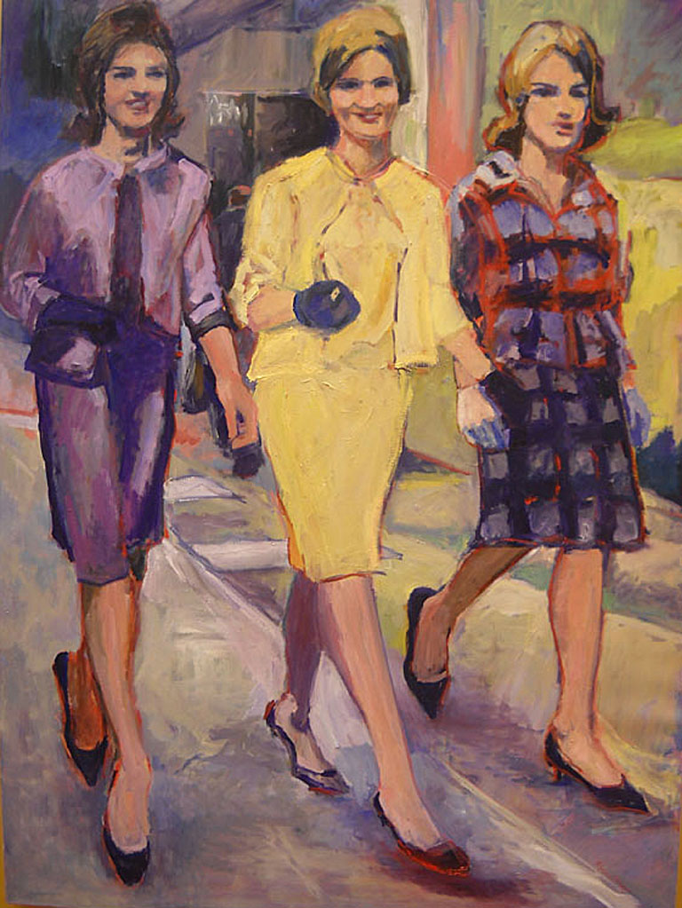 Mad Women  48x36  oc  $2,500  uf