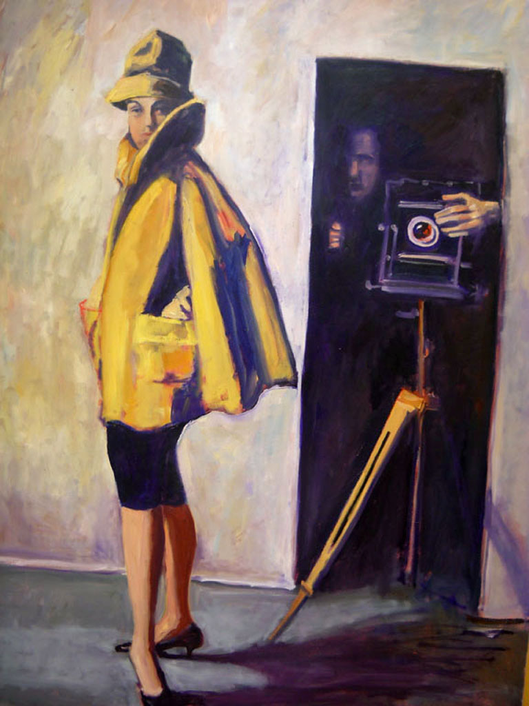 The Photographer  48x36  oc  SOLD