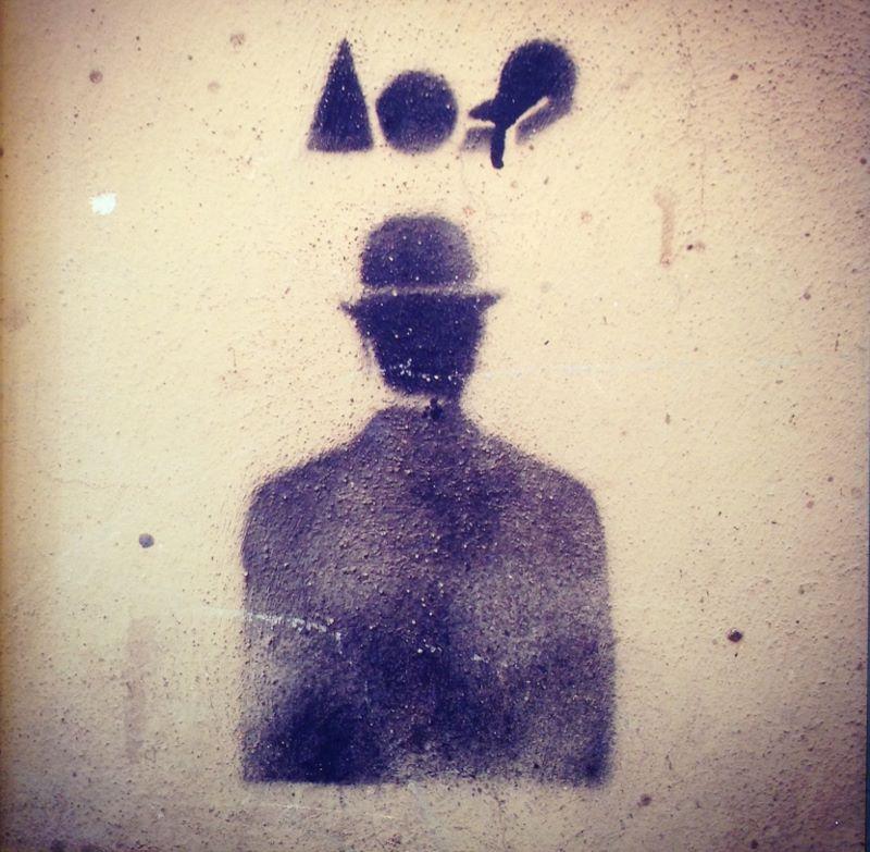 Magritte 8x8 photograph $100 fr