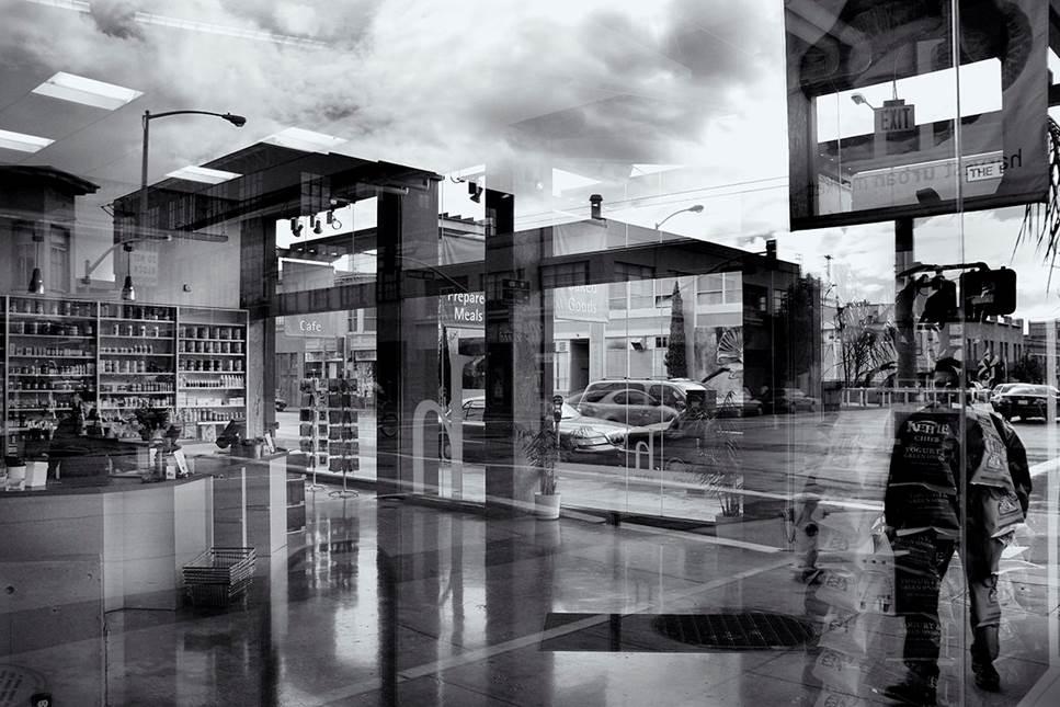 Van Ness 16x24 b&w photograph $250 fr