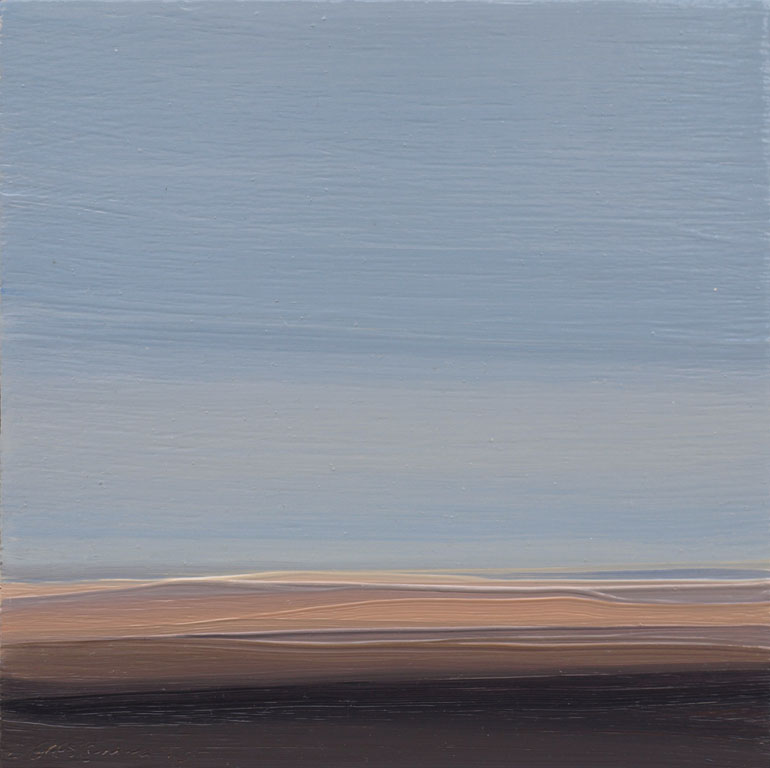 Winter Plains-Sketch  6x6  op  $500  fr