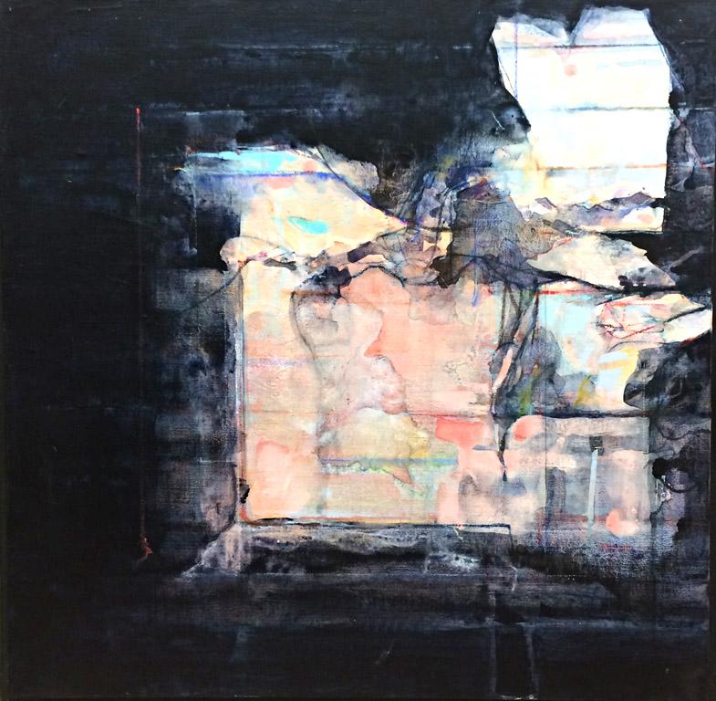 Interior - Mind's Eye (1984) 24x24 ac $2,800 fr
