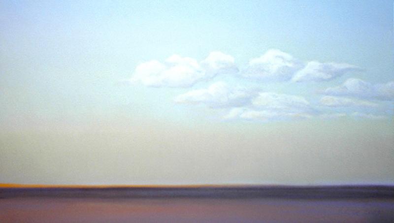 Prairie Clouds 14x23 pastel $655 fr