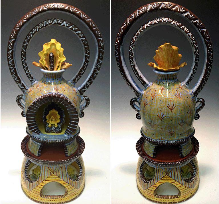 Exalted Icon 19x8x7 ceramic $1,300