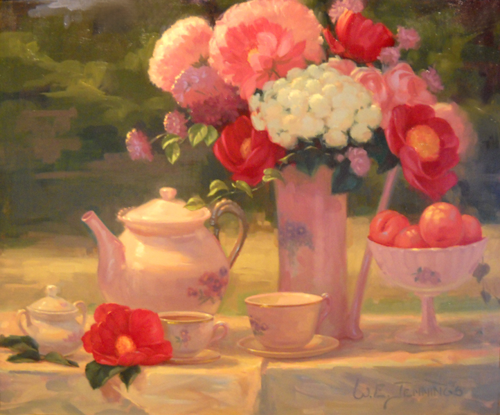Summer Tea  20x24  op  $1,920