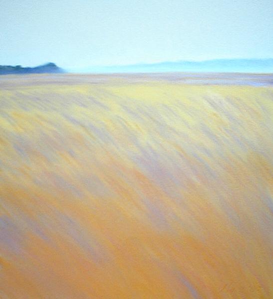 Fall Grass 16.5x15 pastel $535