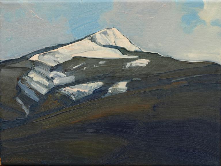 Bitterroot Peak I - 2011 9x12 oc $750 fr