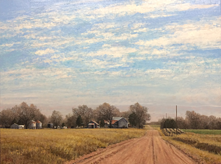 January Road  30x40  ol  $4,200
