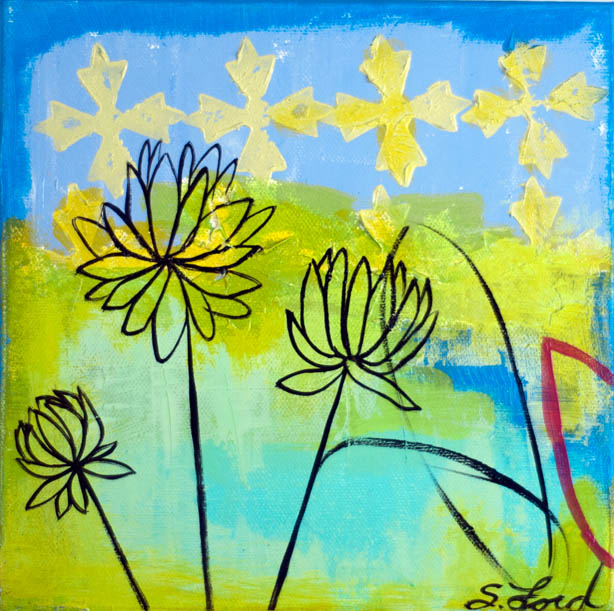 Together Is Better  8x8  oc  $135