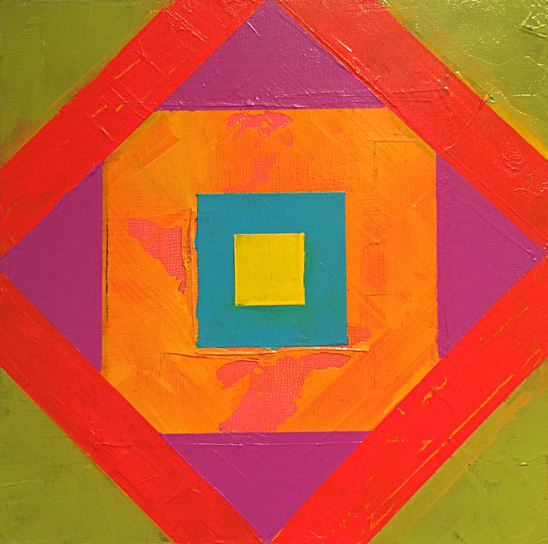 Triangle Triangle Square I 8x8 ap $80