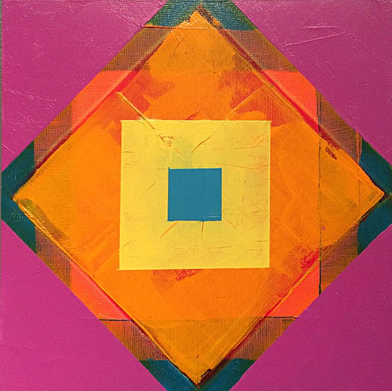 Triangle Triangle Square II 8x8 ap $80