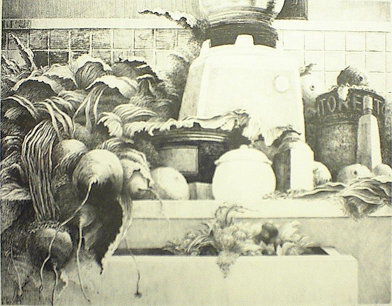 Cornucopia I 11x14 lithograph $260 fr