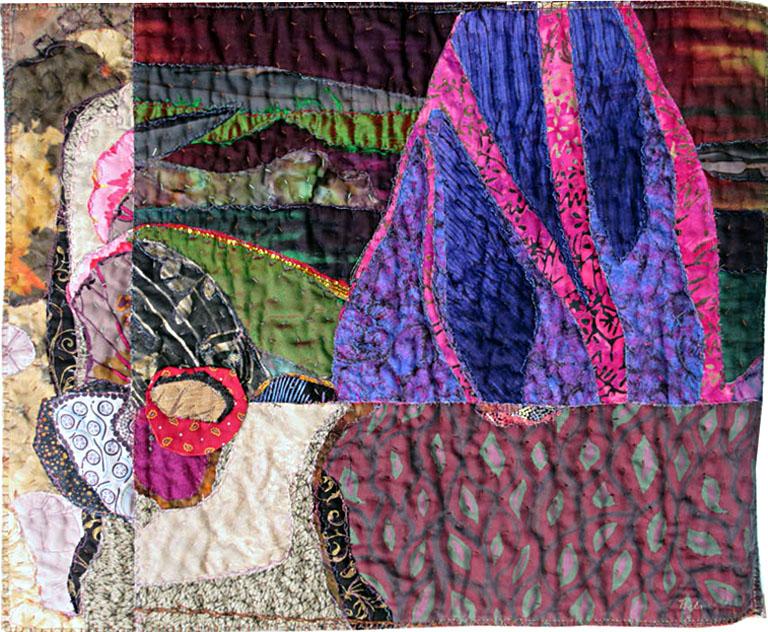 Dreamscape One 20x24 textiles $275