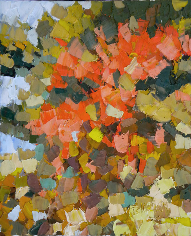 Autumn Splendor  24x20  oc  $1,000*