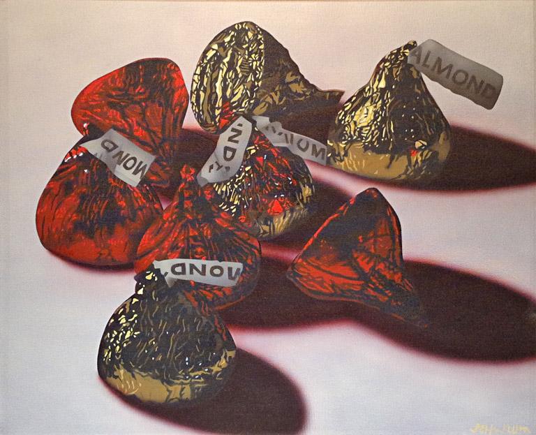 Kisses 24x20 ac $2,000 fr**