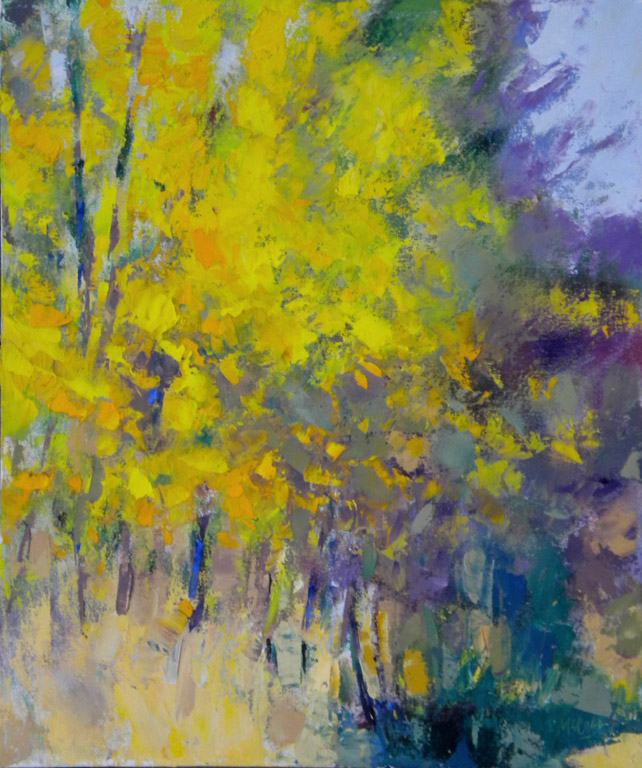 Yellow Spectacular  24x20  oc  SOLD