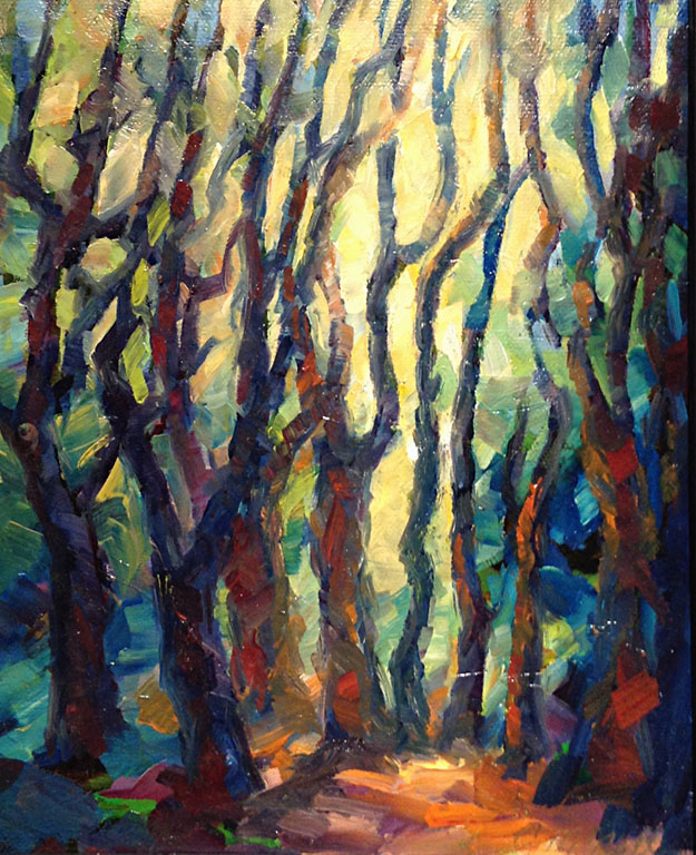 Woodland Light  10x8  oc  $425 fr
