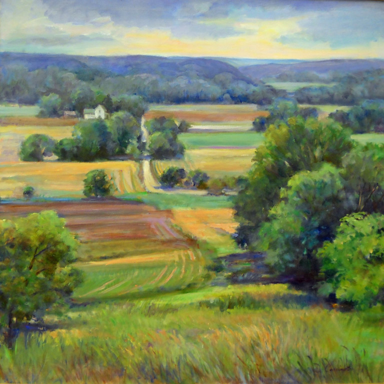 Lawrence Valley  30 x 30  oc  $2,400