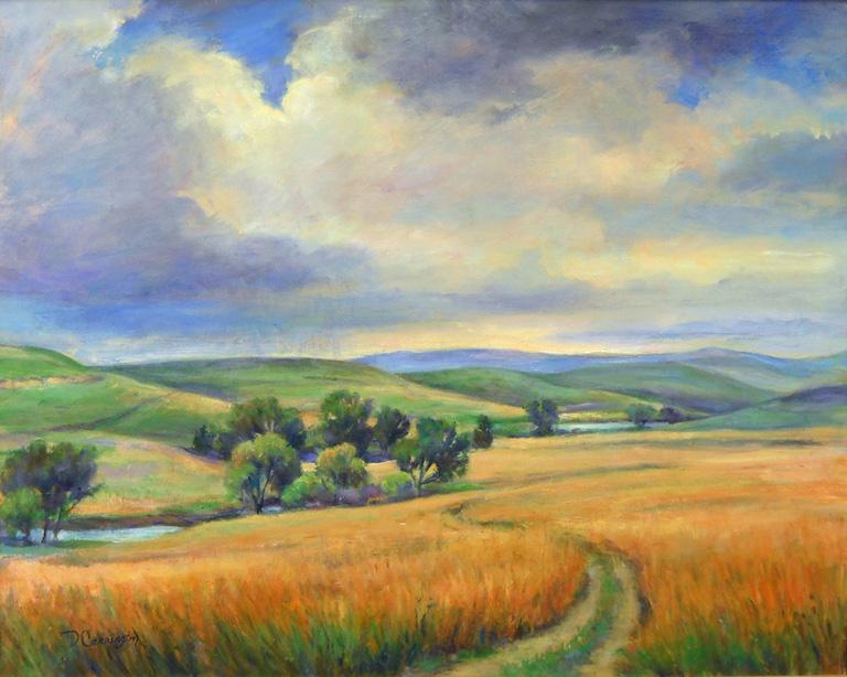 Tall Grass Prairie 24 x 30 oc $2,100
