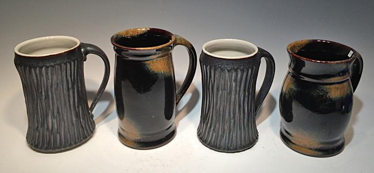 Stein 6x4x4 ceramic $38 ea.