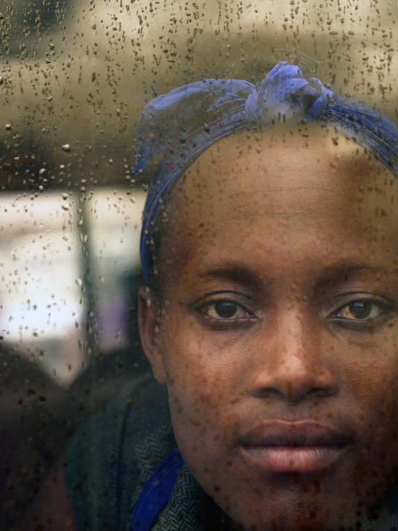 Rain on Window20x15 photograph $600 uf