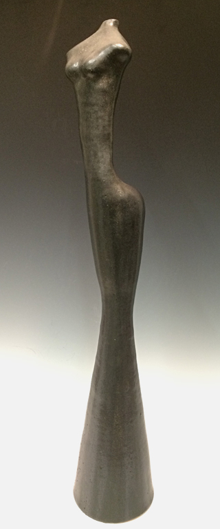 Black Figure  24x4x4  ceramic  $500