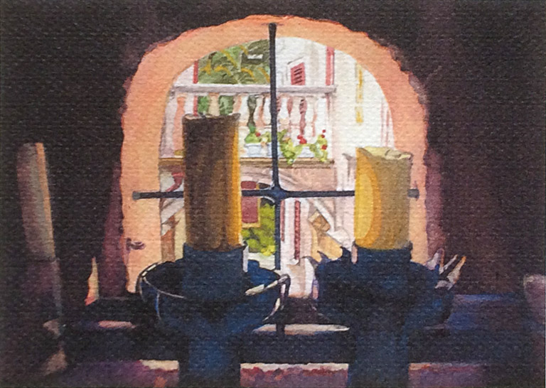 Processional Torches 5x7 wc $65 uf