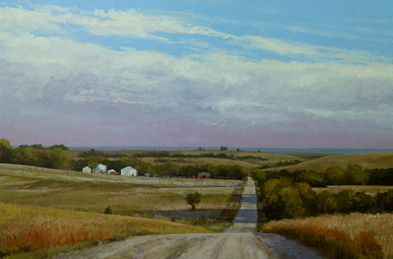 Butler County Road #2  24x36  oc  $3,025
